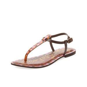 08b1201fbcbfe Sam Edelman Shoes - 3  30 Sam Edelman Gigi thong sandal pink Chevron